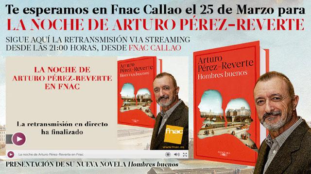 La-noche-de-Arturo-Pérez-Reverte